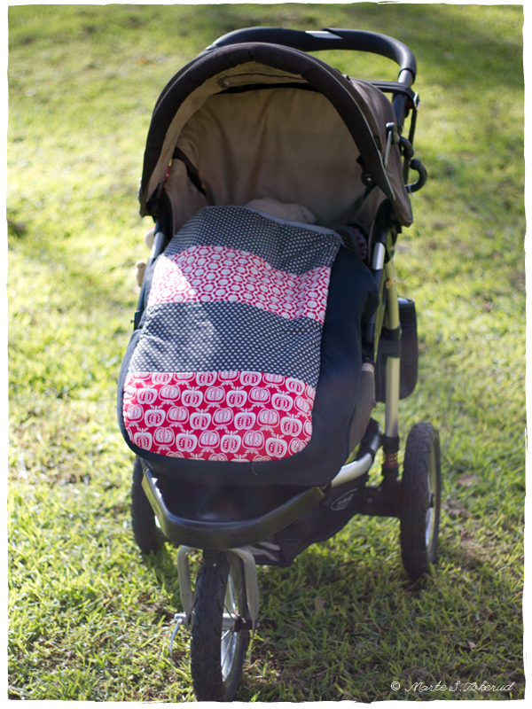 Sleeping bag for the pram